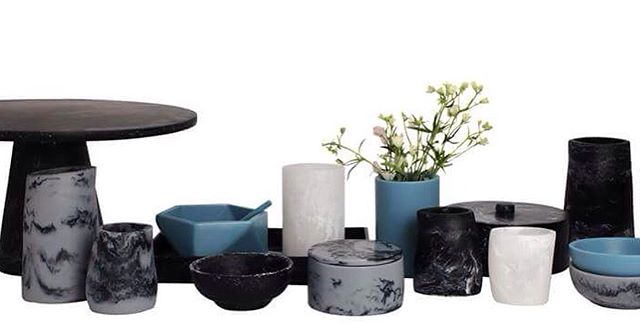 New collection #basiscs #marble #tableware