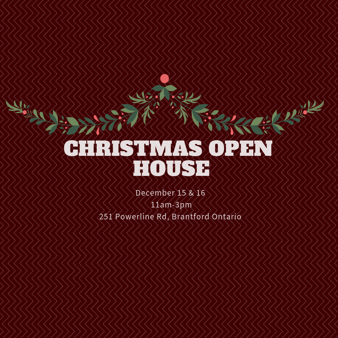 Christmas Open House.Brantwood Farms Christmas Open House