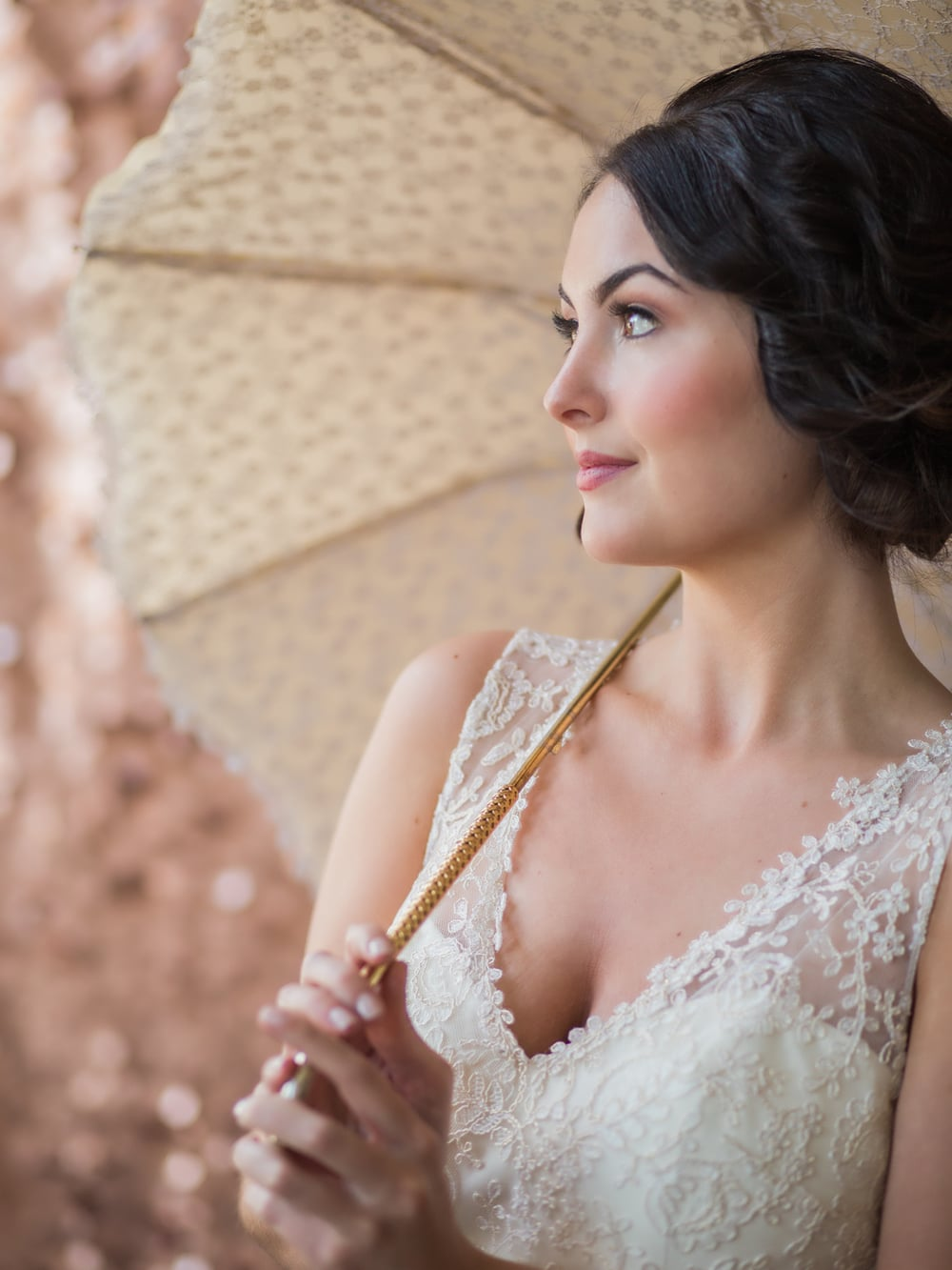 Bella Umbrella Vintage Umbrellas for Rent | Alante Photography | Seattle Wedding Planning