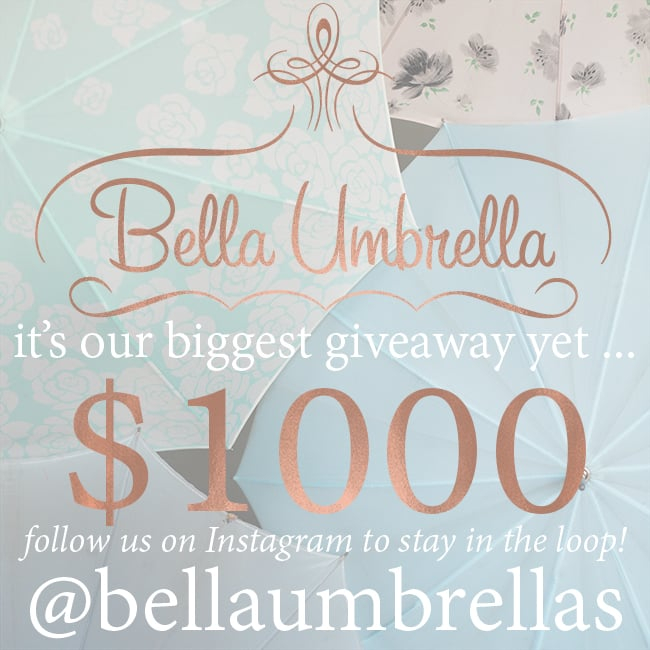 Bella Umbrella Giveaway