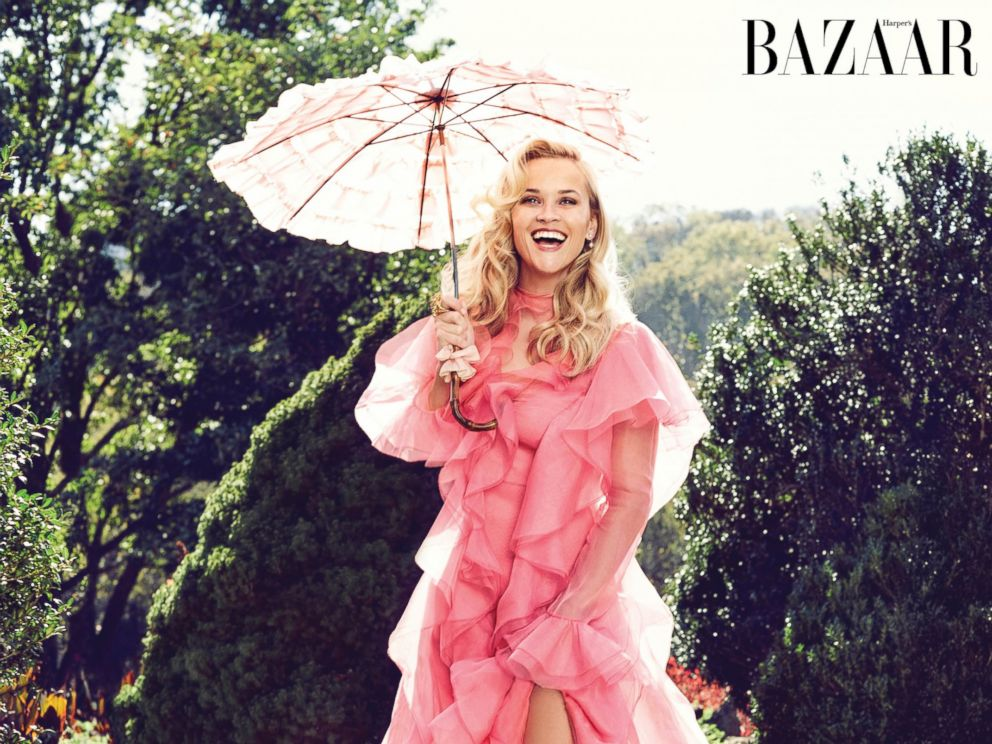 Reese Witherspoon – Harper's Bazaar Magazine (February 2016) | Bella Umbrella