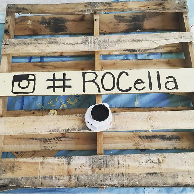 #RocCityGetsCreative - one of the many pallets I'm painting for #ROCella tomorrow @collegetownrochester 12-5pm #Rochester #MusicFestival #Fashion #boho