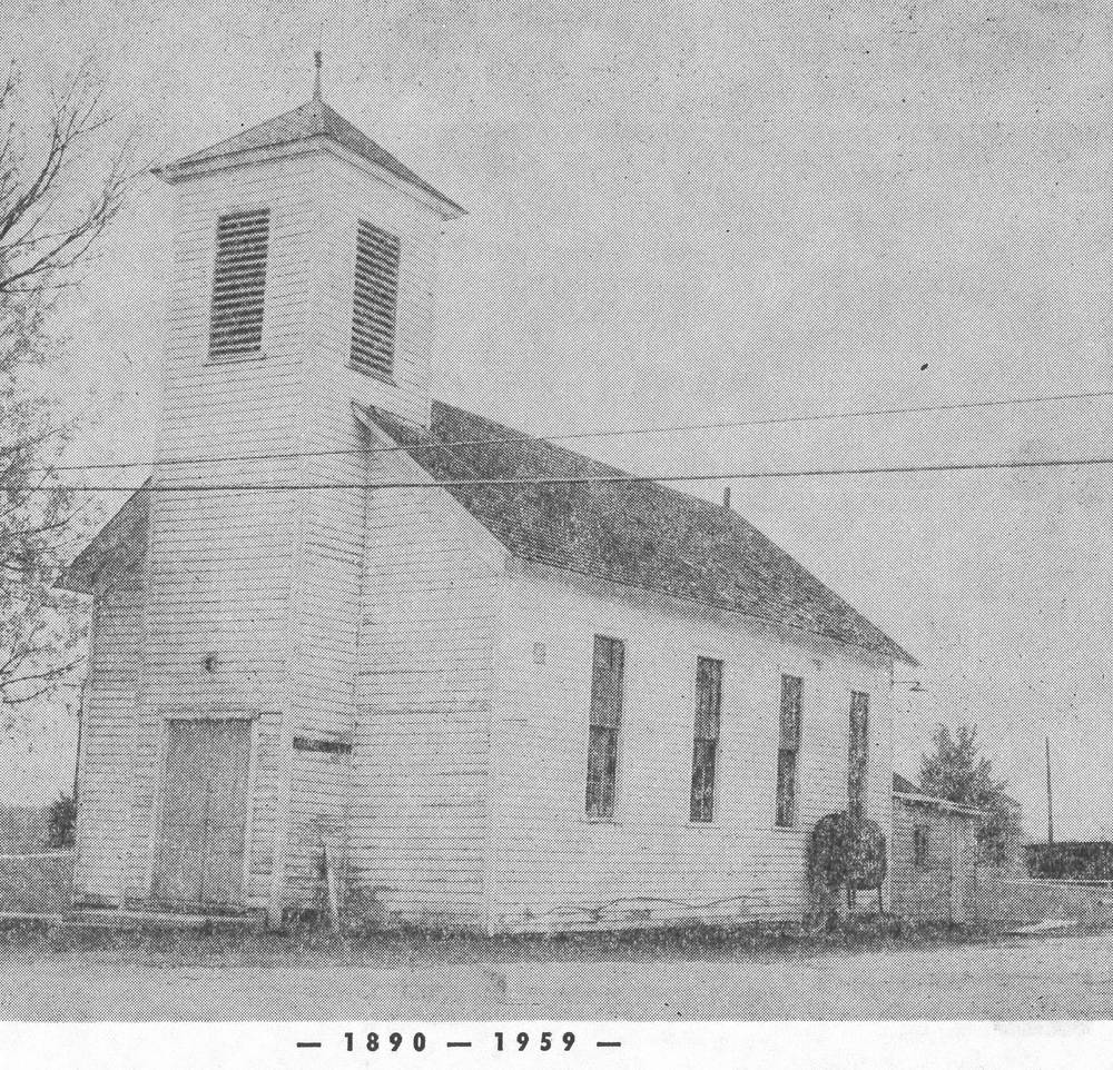 First Church Building 1890 - 1959