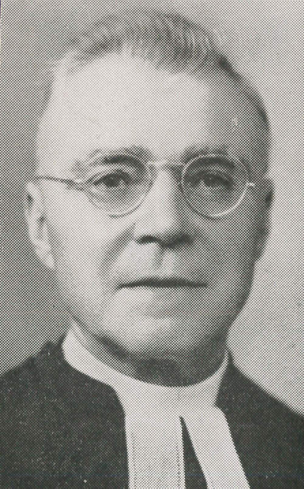 Rev. H. W. Ellenberger