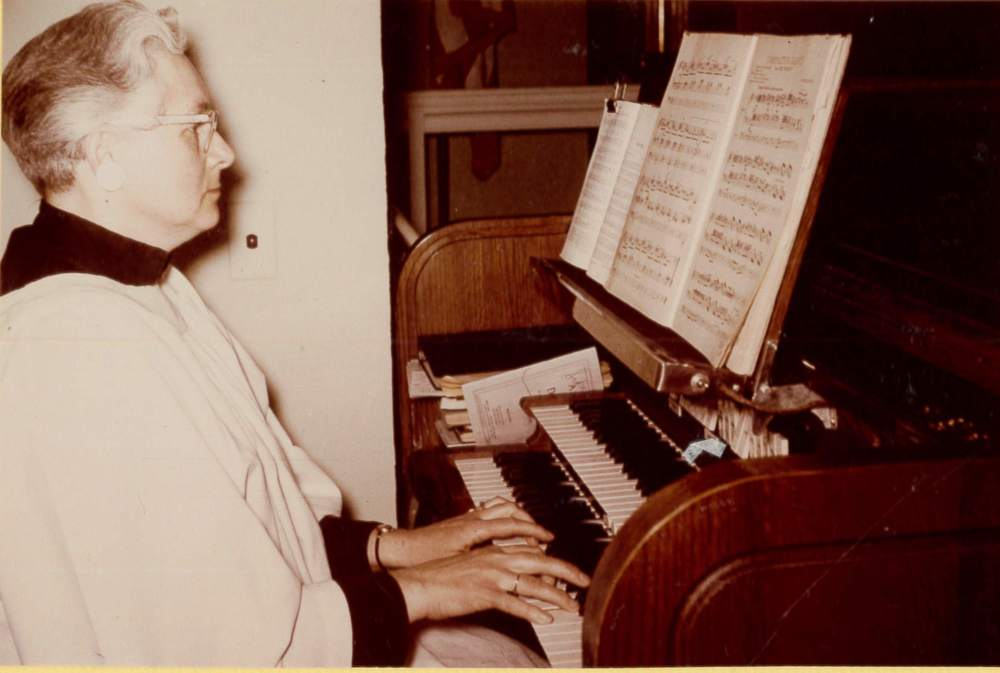 1953 Moeller Pipe Organ installed