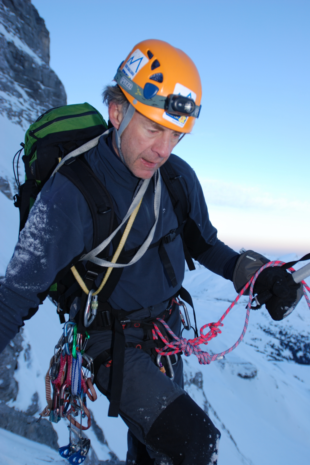 Ran Concentration - Eiger - Credit to Ian Parnell