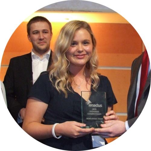 Emily Gilmour President, Enactus Newcastle