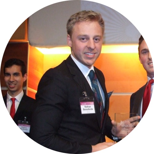 Nathan Beresforde President, Enactus Edinburgh