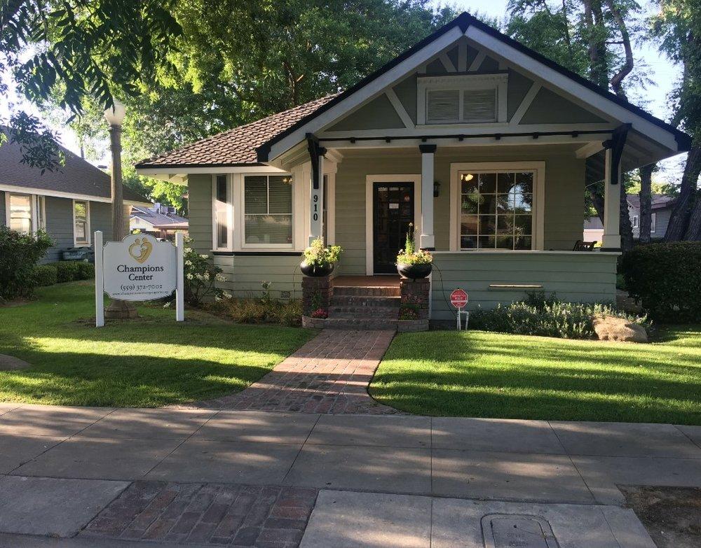 Champions Center - 910 W. Center Avenue |Visalia | CA | 93291(559) 372-7002 |Fax: (559) 697-4648