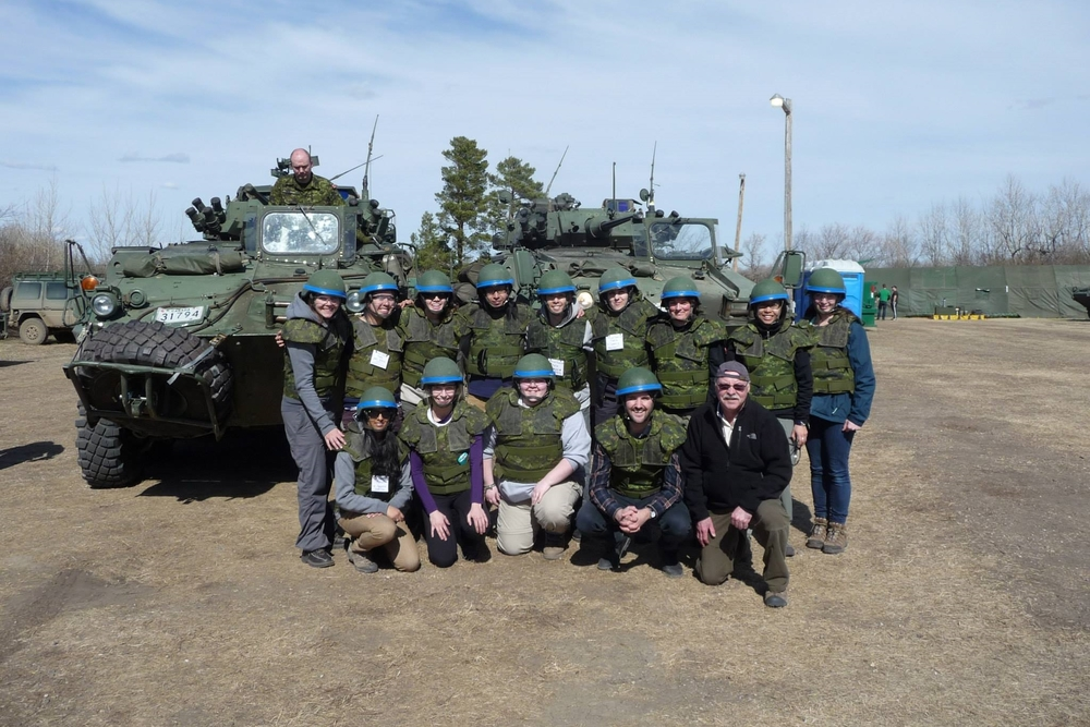 Canadian Military Journalism Course (Photo by Samantha Lui)