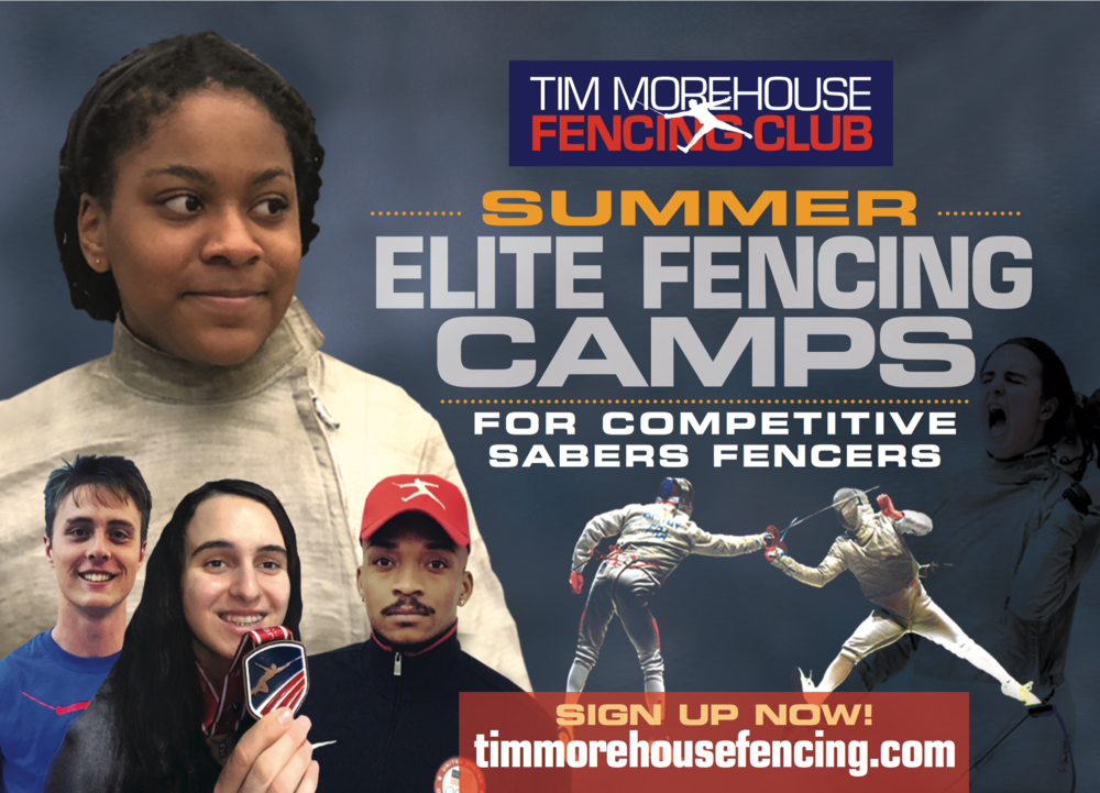 Train Like A Champion This Summer! - The Elite Saber Fencing Camps will start the week on Monday, July 29 and run through the end of August at our Manhattan Location.