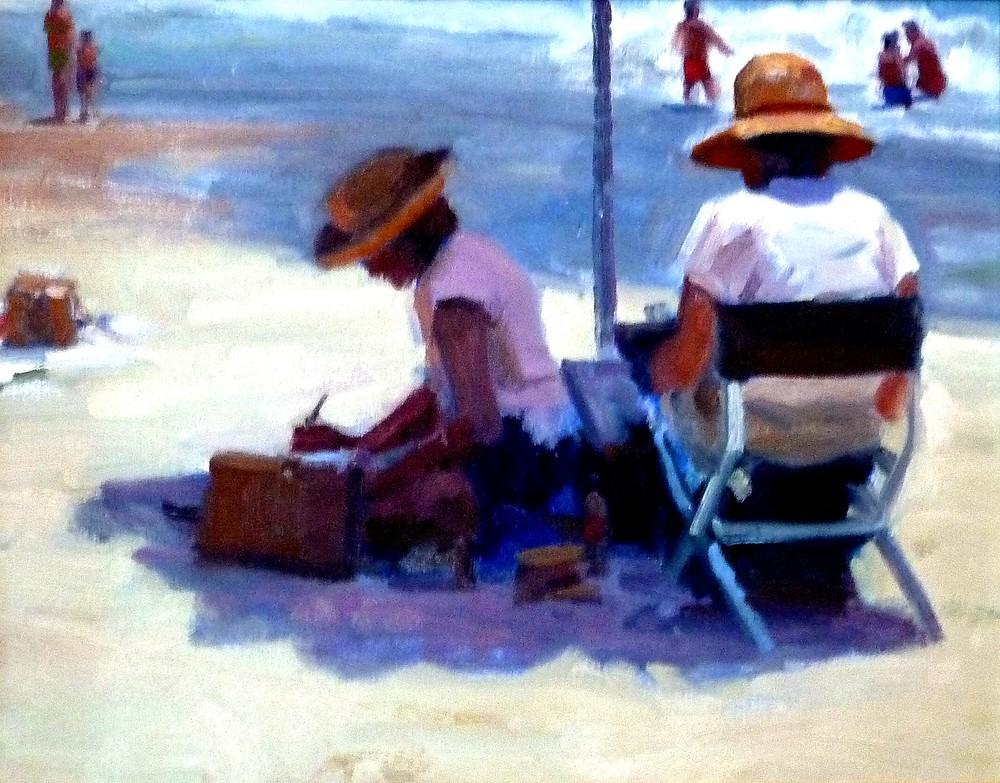 Beach Afternoon- Copyright 2006