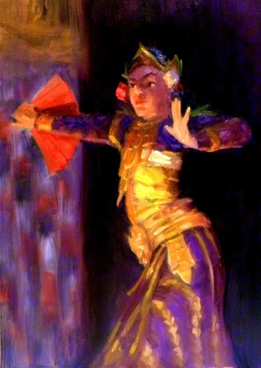 Balinese Dancer- Copyright 2010