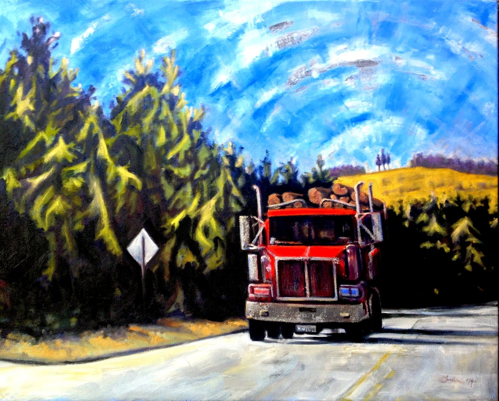 The Logging Truck: A Tribute to Emily Carr- Copyright 2014