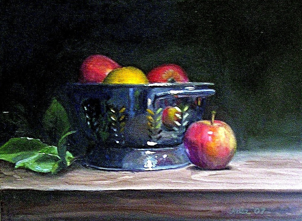 Still Life with Apples- Copyright 2007