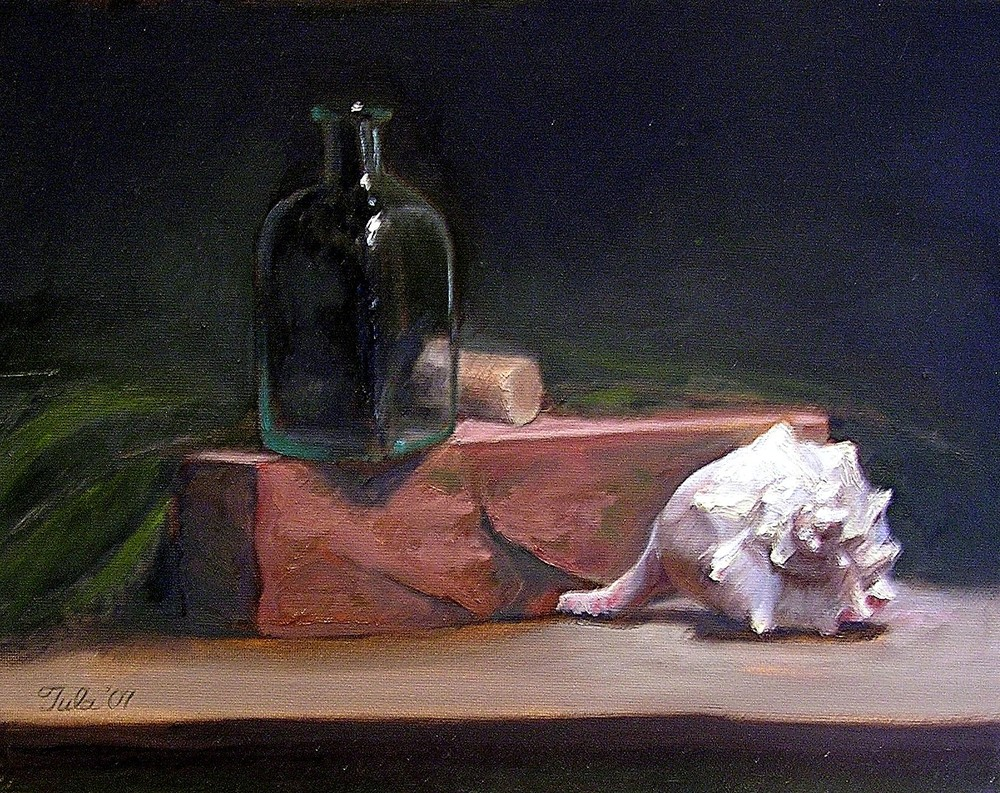 Still Life with Shell- Copyright 2007