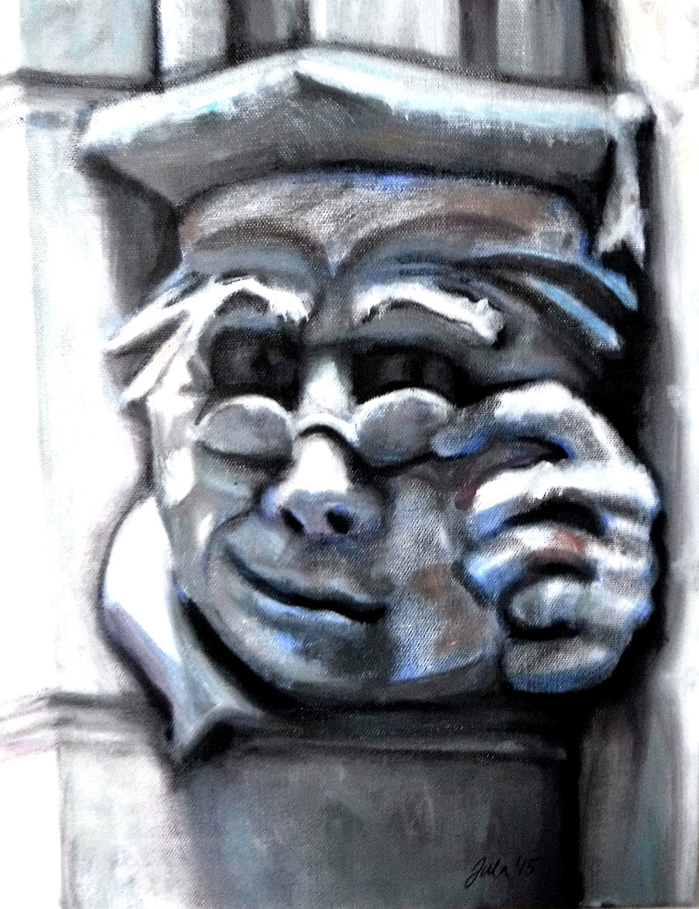 The Gargoyles- Detail- Copyright 2016