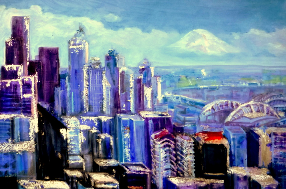 Seattle Skyline- Copyright 2015