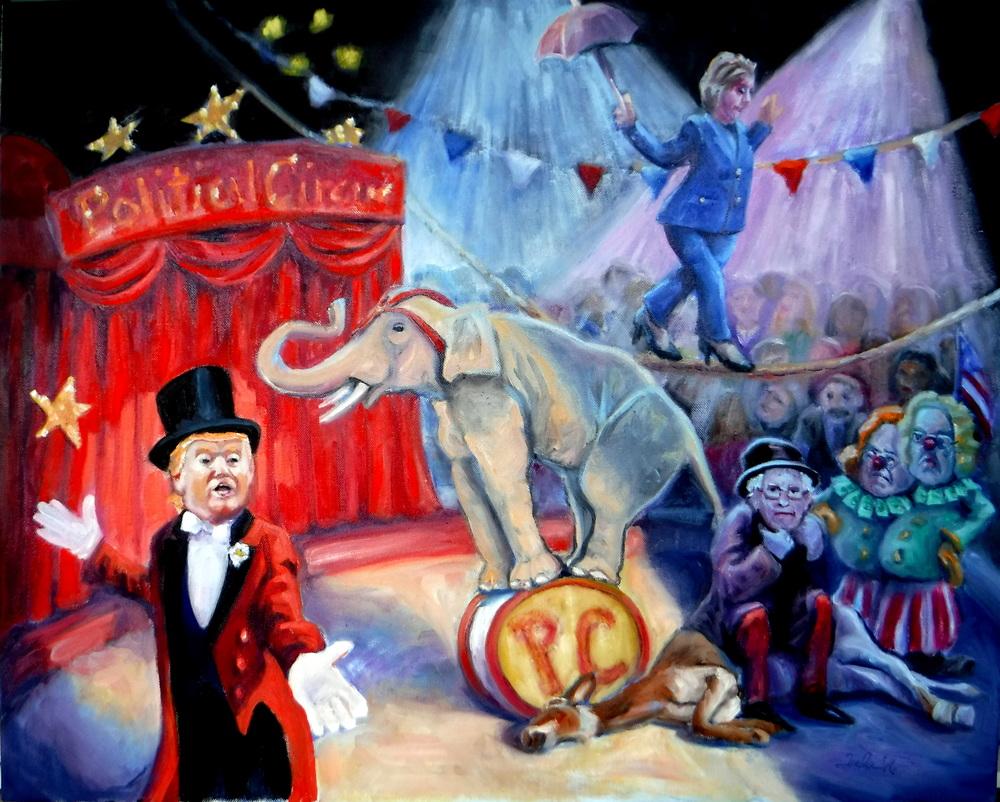 The Political Circus- Copyright 2016