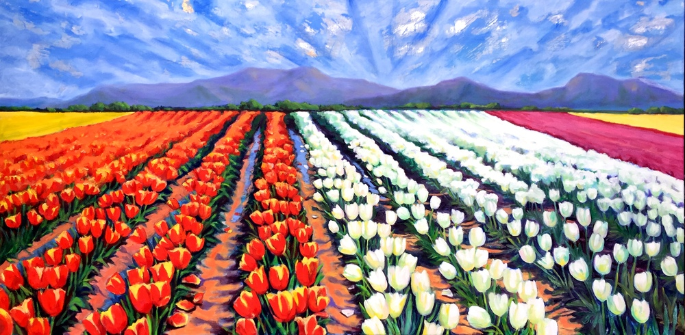 The Tulip Fields- Copyright 2016