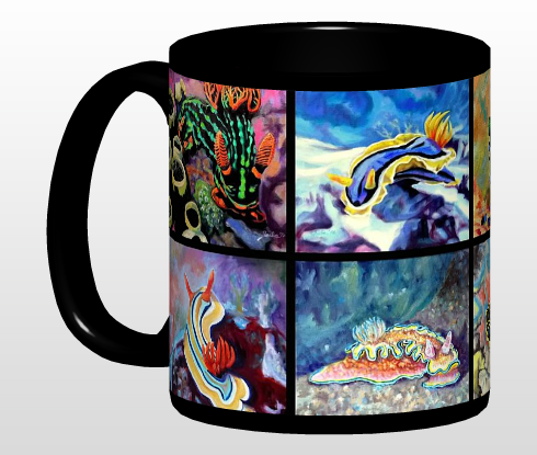 Nudi Art Mugs, Coasters, and Posters