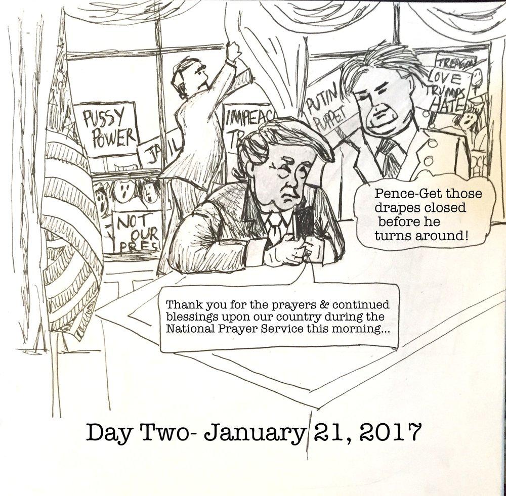 Day 2- January 21, 2017- Copyright 2017