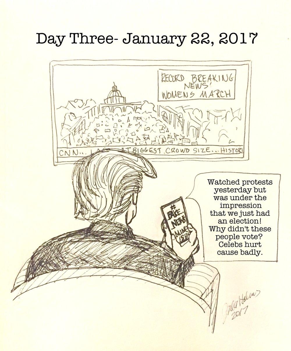 Day 3- January 22, 2017, Copyright 2017