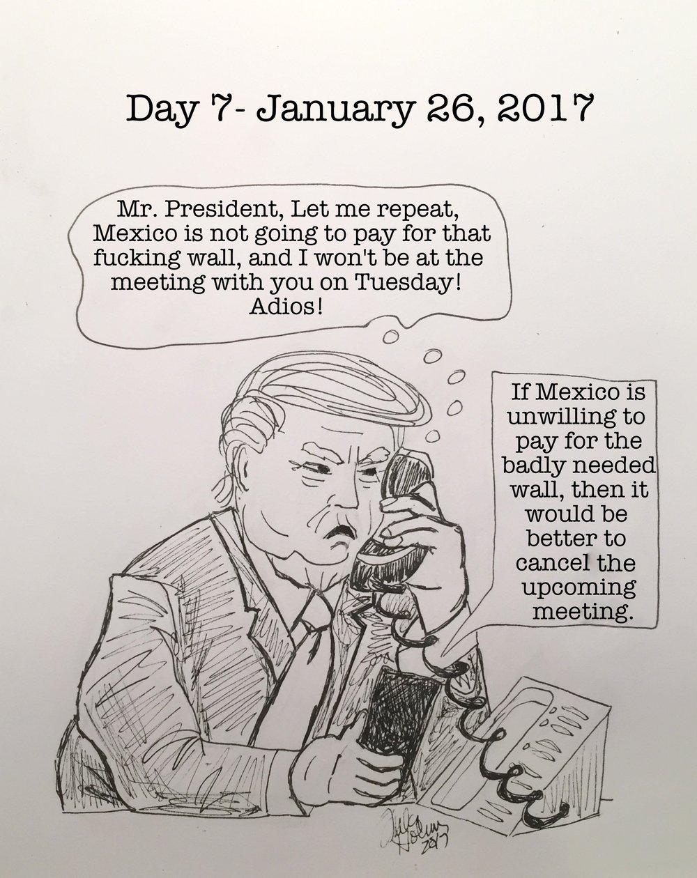 Day 7- January 26, 2017- Copyright 2017