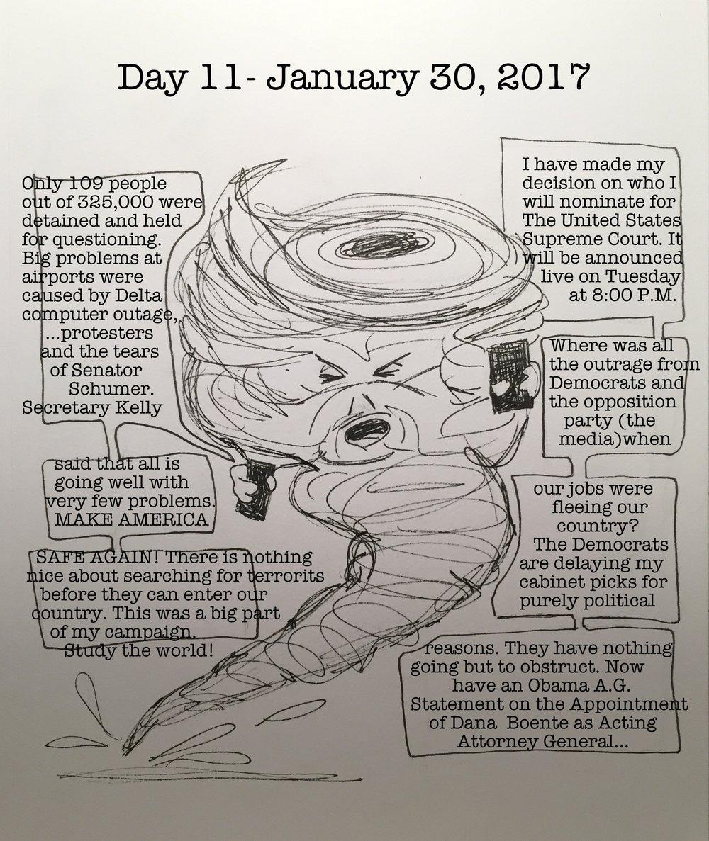 Day 11- January 30, 2017- Copyright 2017