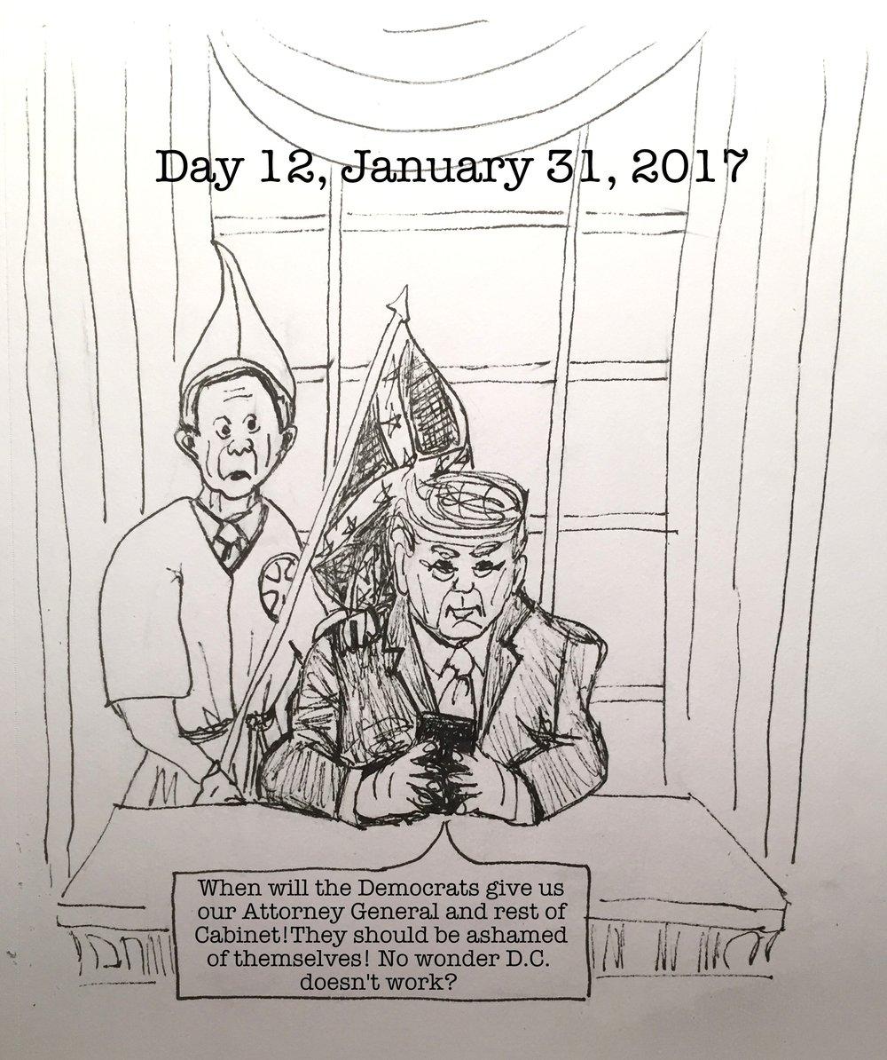 Day 12- January 31, 2017- Copyright 2017