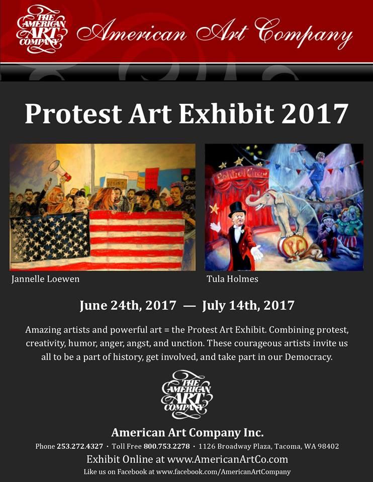 Protest Art Exhibition