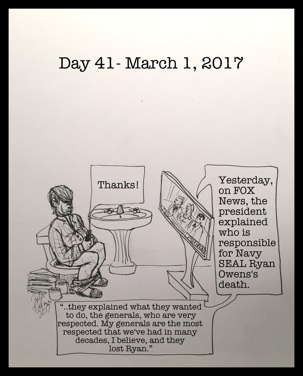 Day 41- March 1, 2017- Copyright 2017
