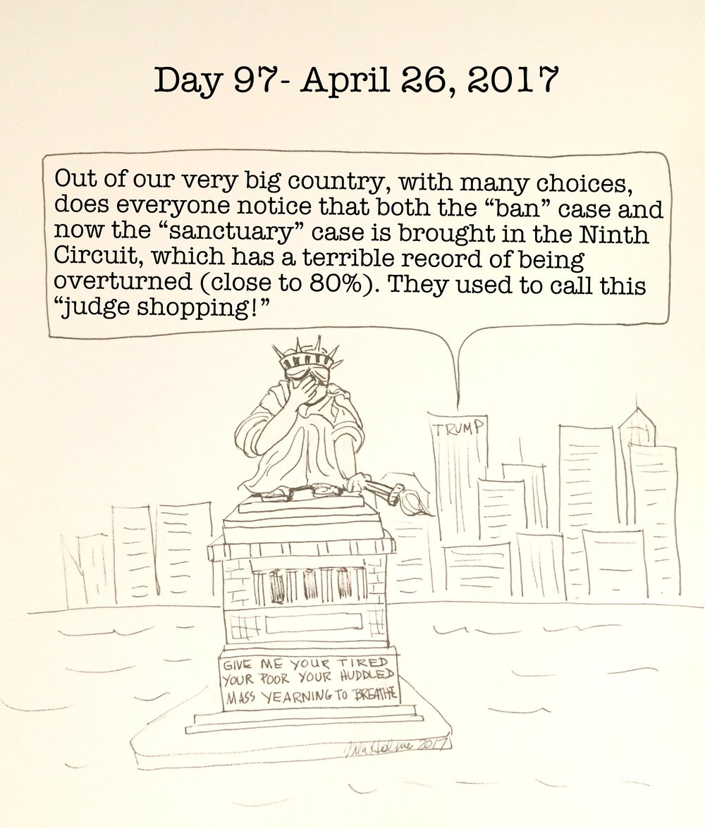 Day 97- April 26, 2017- Copyright 2017