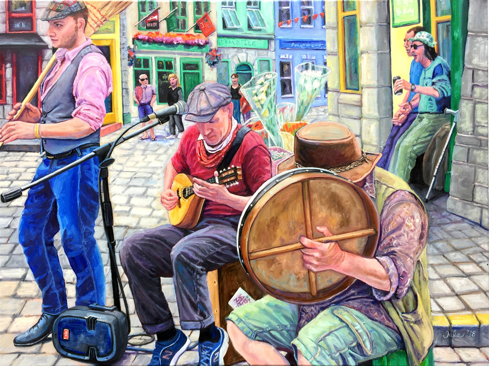Galway Street Musicians- Copyright 2018