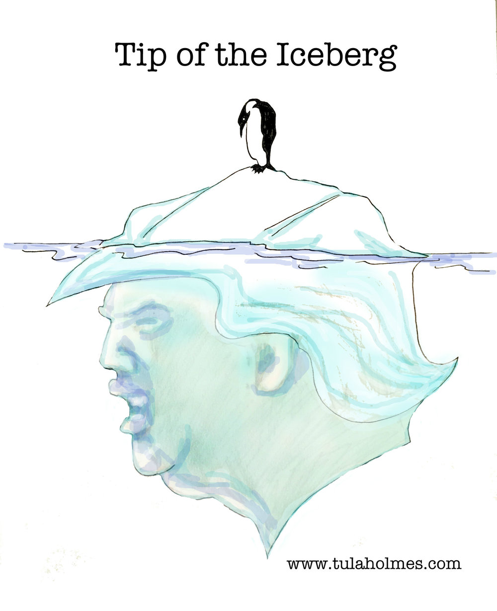Tip of the Iceberg- Copyright 2019