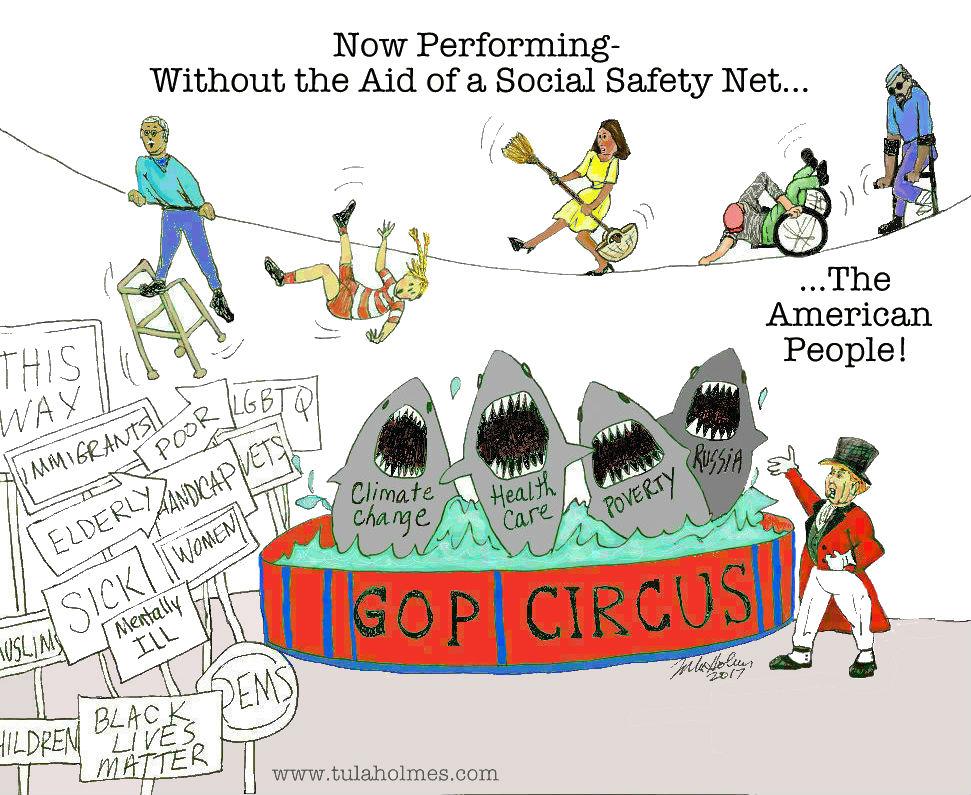 The GOP Circus- Copyright 2017