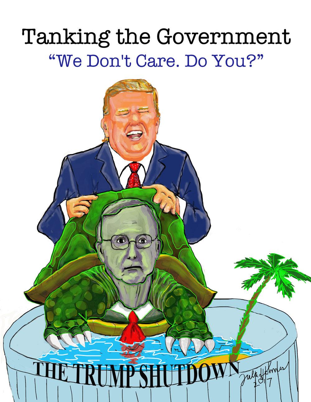 The Trump Shutdown- Copyright 2019