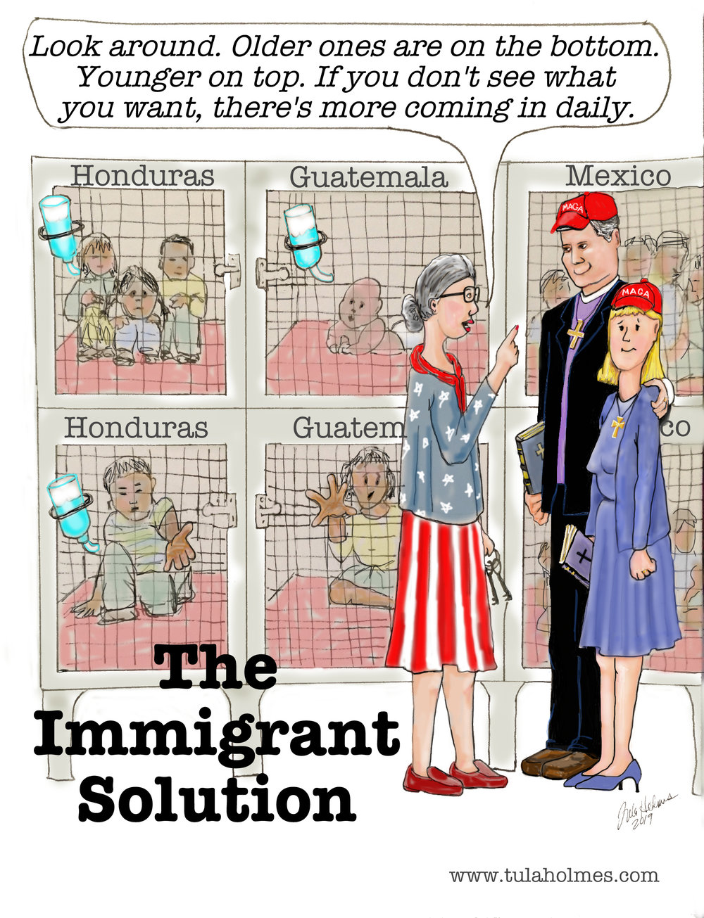 The Immigrant Solution- Copyright 2019