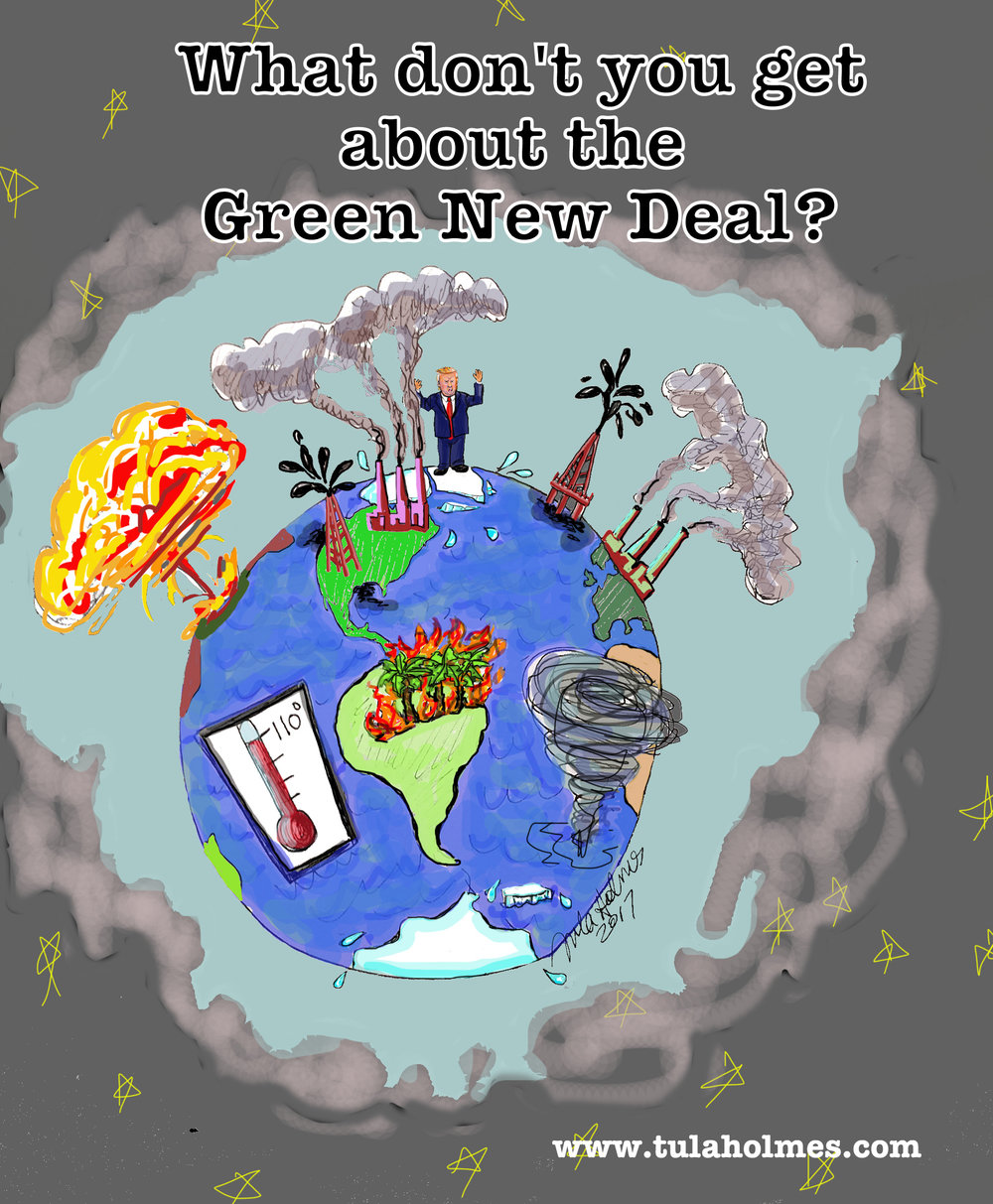 The Green New Deal- Copyright 2019
