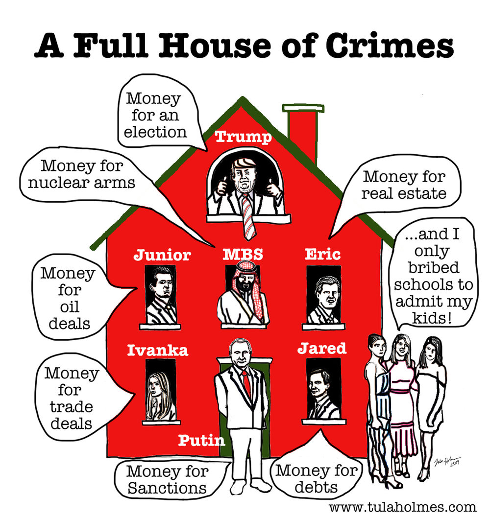 A Full House of Crimes- Copyright 2019