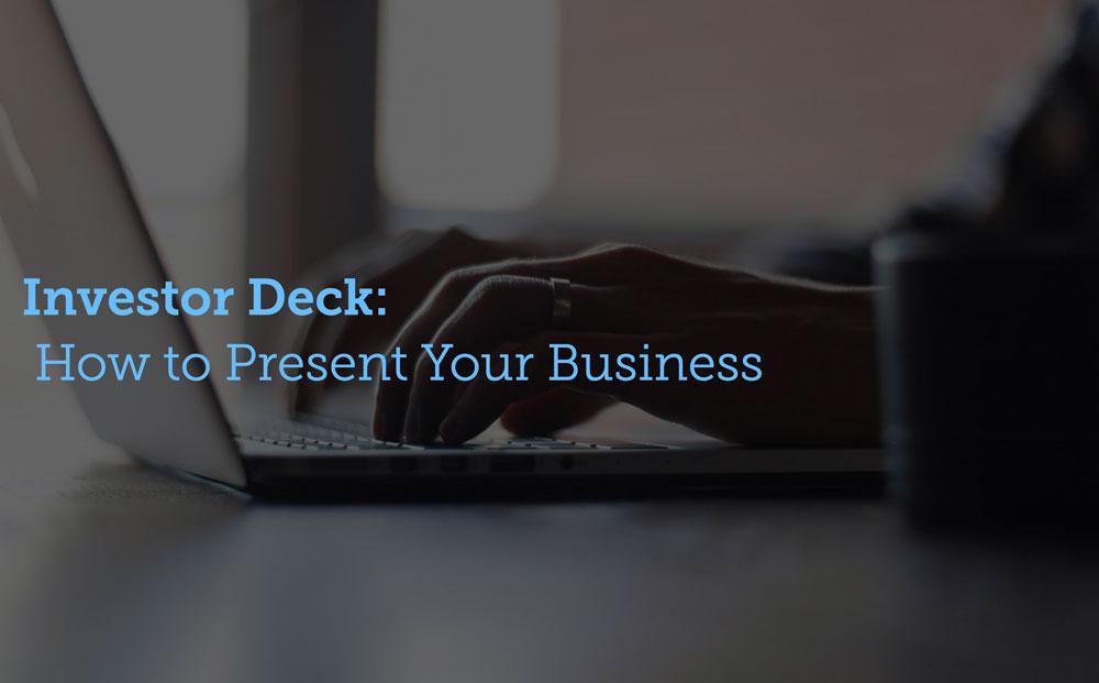 Cómo presentar tu negocio