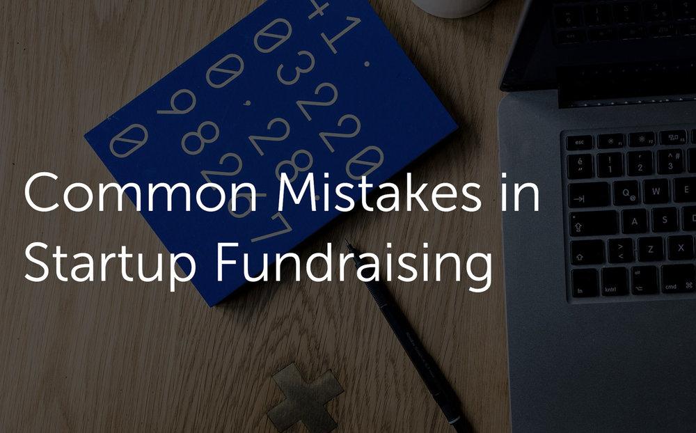 Errores de Startups para inversión