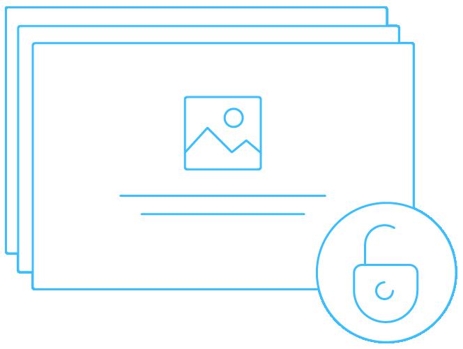 unlock presentation