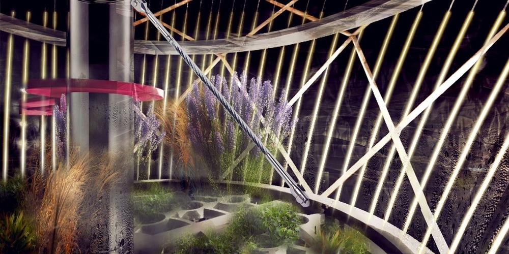 Project Interior Visualization: Plant Habitat