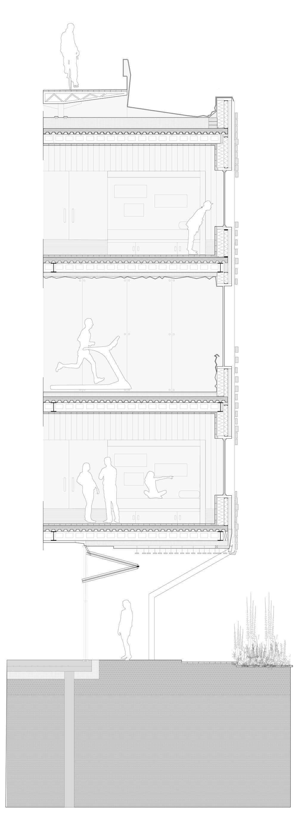 CONSTRUCTED WALL SECTION: PLESS IMAGE TO SEE FULL VIEW