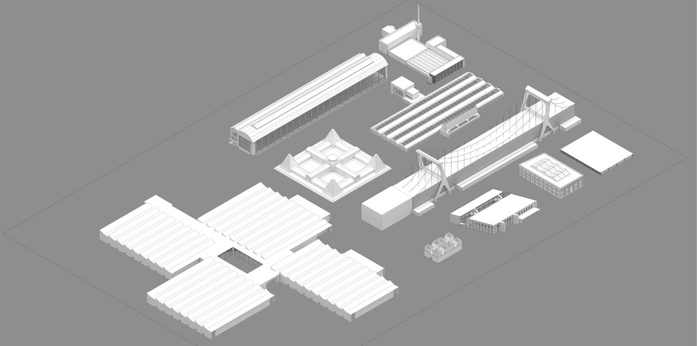 Precedent Manufacturing Facilities: Layout by Josh Kim