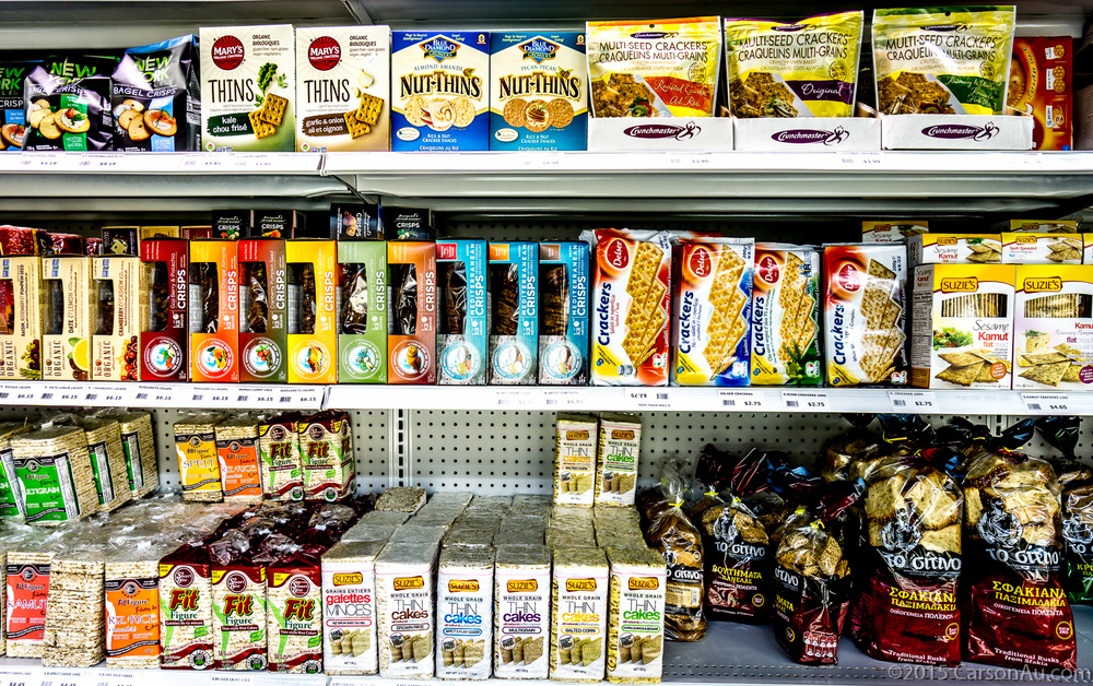 Our cookie & cracker section is full of authentic Greek & Italian products as well as tons of vegan & gluten free options.