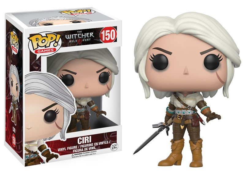 Pop! Games Witcher 3 Ciri