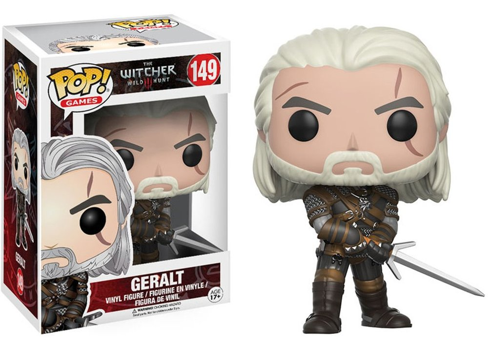 Pop! Games Witcher 3 Geralt