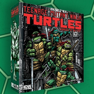 TMNT Shadows of the Past Board Game